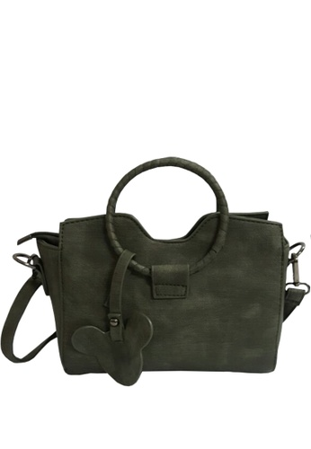 TCWK green Ladies Sling Bag TC258AC05VQOMY_1