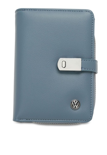 Volkswagen blue RFID Short Purse A0CD2AC8DCE5DAGS_1