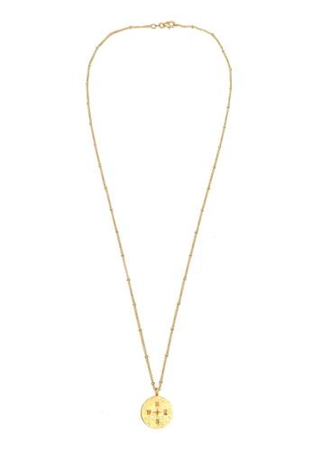 Shop Elli Germany Elli Germany Necklace Compass Platelet Pendant