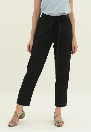 Love Knot black Daffodil Tapered Pants (Black) BB180AA98CCF1BGS_1