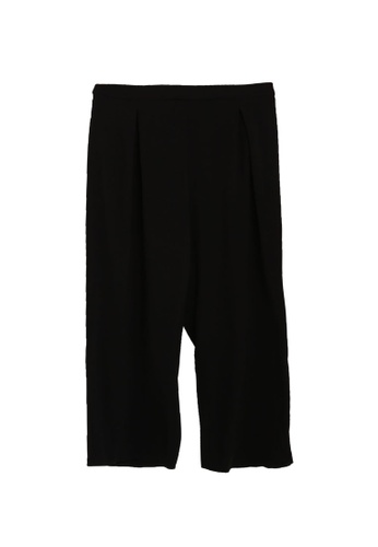 Dorothy Perkins black Plus Size Black Palazzo Trousers DED13AA553FF4CGS_1