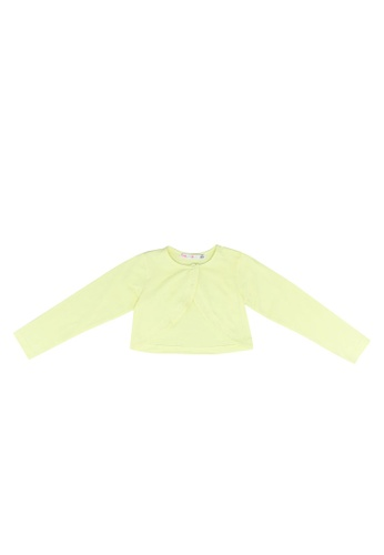 Babybol yellow Basic Cotton Cardigan F5E39KAF7F693AGS_1