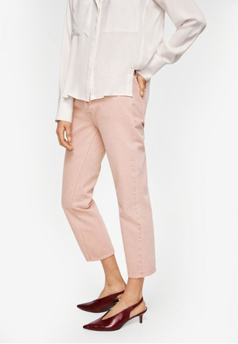 Mango pink Sayana Straight Jeans BA13DAA8118060GS_1