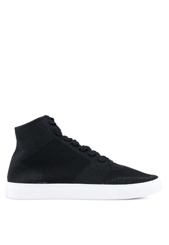 North Star black Lace Up Sneakers 73691SH1E9796AGS_1