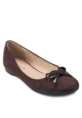 蝴蝶結平底鞋, 女鞋, 芭蕾esprit台灣平底鞋