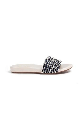 Shu Talk blue Simple Stylish Causal Sandals 0DE7BSH9FF1EC2GS_1