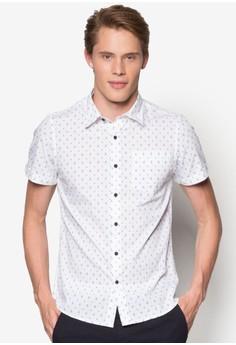 Travis 印花短袖襯衫