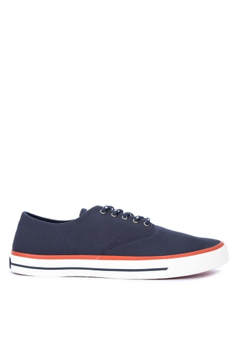 Sperry navy Captain'S Cvo Nautical Sneakers SP132SH0SXB4MY_1
