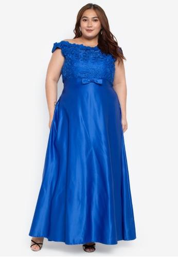 6c6850d8477 Yuri Plus Size Maxi Dress