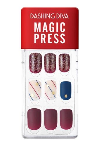 Dashing Diva red Dashing Diva 1 SEC. MAGIC PRESS Manicure Let It Start / Press on Nails /Nail Tips 29452BEA1511DEGS_1