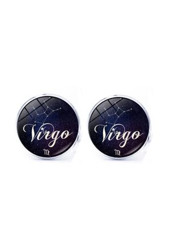 Kings Collection blue Virgo Cufflinks (KC10175) 045EBAC6845A5CGS_1