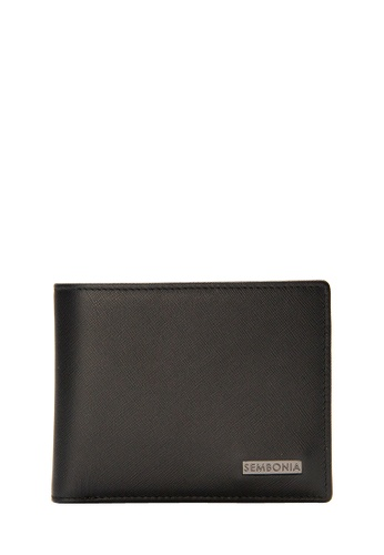 SEMBONIA black SEMBONIA Men Genuine Leather Wallet (Black) 6E01CAC67931DDGS_1