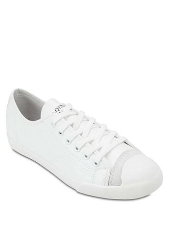 仿皮繫帶esprit 工作休閒鞋, 女鞋, 俏皮男孩風
