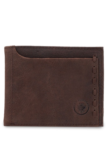 Lumberjacks brown Lumberjacks Wallet LU545AC35NZOMY_1