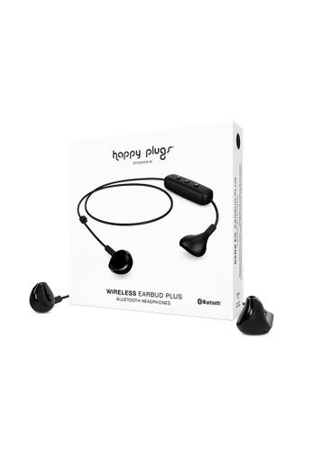 happy plugs black Happy Plugs Earbud Plus Wireless - Black 3D10BACA0E0560GS_1