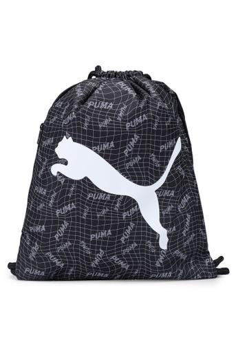 PUMA black Beta Gym Sack Bag 6AA67AC4E44785GS_1