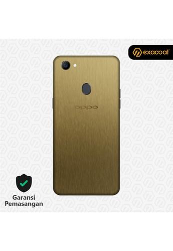 Exacoat Oppo F7 3M Skins Titanium Gold - Cut Only F1C4AES36F5D94GS_1