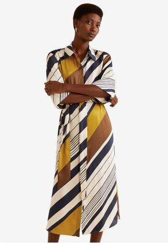 Mango multi Printed Shirt Dress D9251AA17025A4GS_1