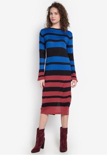 Chloe Edit multi Midi Dress CH672AA0KGMEPH_1