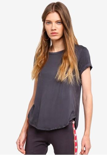 Cotton On black Kathleen Short Sleeve Top 672DDAA543EA66GS_1