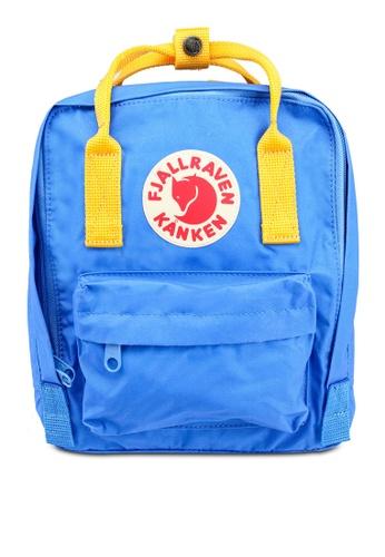 Fjallraven Kanken yellow and blue Kanken Mini Backpack E3C76AC40C82B5GS_1
