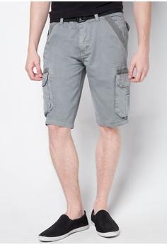 Unltd Col. Cargo Shorts with Belt