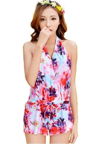 Halo multi (3pcs) Floral Print Bikini Set Swimsuits HA405US0FDI5SG_1