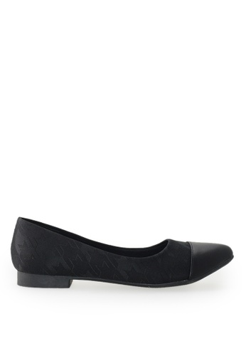 Footspot black FOOTSPOT - Pointed Toe Flats 64B29SHF66F824GS_1
