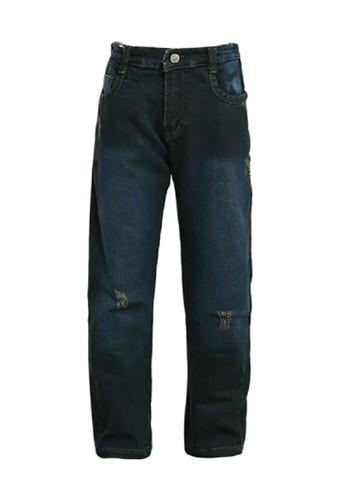 Versail blue Versail Junior Celana Jeans Motif Sobek 4EE11KAE9C12FFGS_1