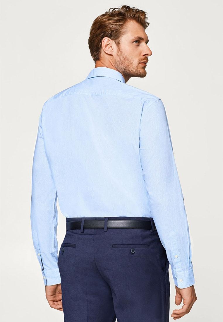 ESPRIT Blue Long Sleeve Shirt Woven Light qYtXwA