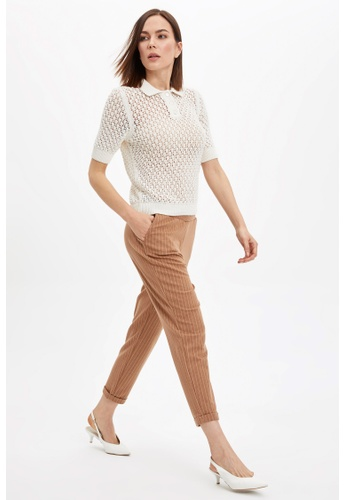 DeFacto brown Woman Knitted Trousers 1A0C8AADDC390AGS_1