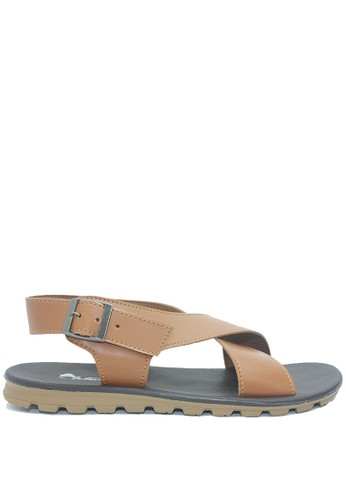 Dr. Kevin brown Dr. Kevin Men Sandals 9615 - Tan BA641SH760067AGS_1