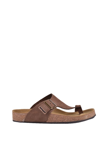 Hush Puppies brown Hush Puppies CORKAZON II In Taupe E7DEDSH8414CD5GS_1