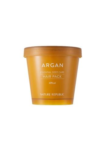 NATURE REPUBLIC Argan Essential Deep Care Hair Pack 470ml E747BBED2FC378GS_1