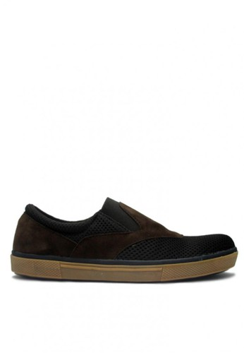 D-Island black D-Island Shoes Slip On Hardware Canvas Black DI594SH04ABVID_1