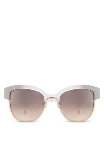 Swirl Wayfaesprit 內衣rer 鍍金太陽眼鏡, 飾品配件, 飾品配件