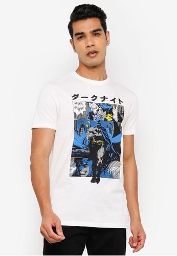 Springfield white Batman T-Shirt 48A37AA8B6805AGS_1