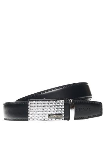 Adobree black Adobree Spodosols Col.03 Belt 3.5 R - Silver Black C48D5ACD1E6ED6GS_1