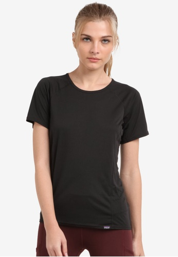 Patagonia black Cap LW T-Shirt PA549AA0RQB1MY_1