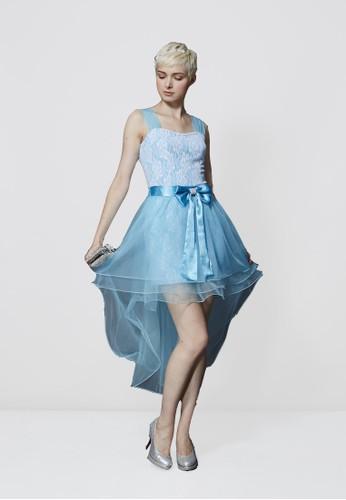 愛紗公主Party蕾絲洋裝兩穿式澎裙, 服飾, 派對esprit官網洋裝