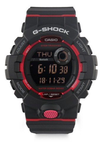 G-shock black and red G-shock Men GBD-800-1DR Black Red 45BD6AC5C4BF5CGS_1