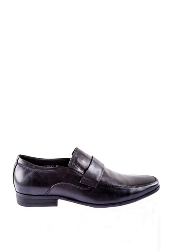 Otto black Smart Casual Loafers CD9C3SH113DFBDGS_1
