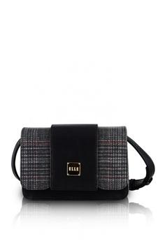 e91e02b86e4d Elle black Ladies 181 Cross Body Bag BF045AC44A6B55GS 1