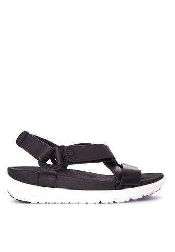 FitFlop black Sling Sandals FI188SH0KA9JPH_1