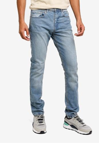 Cotton On 藍色 修身牛仔褲 966F1AACAB06D7GS_1
