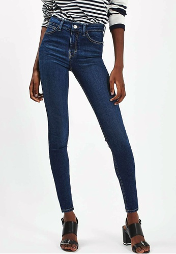 TOPSHOP blue MOTO Indigo Jamie Jeans TO412AA87ADSMY_1