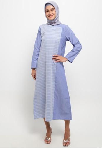 Cressida Ladies blue Akina Dresses C40B2AABE9DD41GS_1
