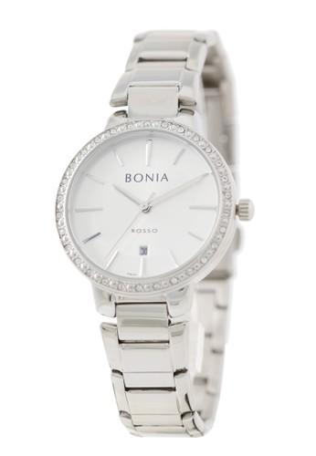 BONIA silver Bonia Rosso - BR160-2312S - Jam Tangan Wanita - Silver EA54DAC72DAA4CGS_1