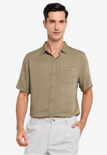 Cotton On beige Cuban Short Sleeve Shirt 47D5BAA2D55258GS_1