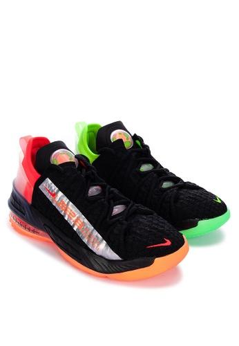 Nike black Lebron Xviii (Gs) 7B048KS819B387GS_1